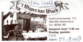 0043-1315 't Wapen van Wisch