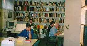 1165 Studiezaal gemeentearchief in het gemeentehuis