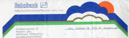 0684-0897 Coöp. Raiffeisenbank 'Hengelo' WA