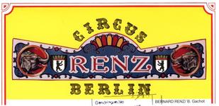 01575 Circus Renz