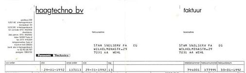 0849-03469 Haagtechno b.v.