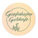 158-1 Beker-rondel: Grafschafter Goldsaft