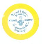 158-11 Beker-rondel: Zo uit 't bed ..... producten. Wynants Lowette. En sortant du lit ..... Siroconfi