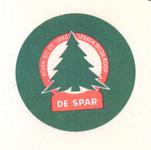 158-2 Beker-rondel: Kopen bij de Spar - sparen bij de koop. De Spar