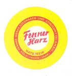 158-9 Beker-rondel: Fenner Harz. Naturrein. Fenner Werke, Süsswaren und Genussmittel GMBH. Völklingen (Saar)