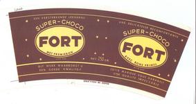 159-1 Brugstans: Fort. Super-choco. Een versterkende lekkernij. Dit merk waarborgt u een goede kwaliteit. Met premiebon ...