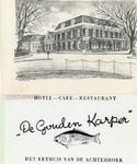 1095-19-037 Visitekaartje van De Gouden Karper