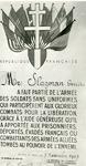 1095-40-0997 De Franse onderscheiding die Gerrit Slagman van boerderij de Zonnenberg postuum ontving voor zijn hulp aan ...