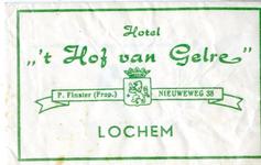 004 Hotel ' 't Hof van Gelre'. P. Finster (Prop.)
