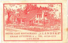 075 Hotel Café Restaurant ' 't Ländeke'