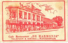 076 Café Restaurant 'De Harmonie'