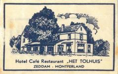 077 Hotel café restaurant 'Het Tolhuis'