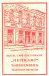 081 Hotel café restaurant 'Heitkamp'