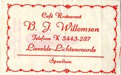 012 Café Restaurant Speeltuin B.J. Willemsen