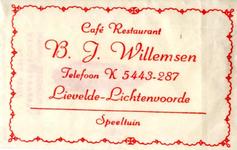 040 Café restaurant speeltuin B.J. Willemsen