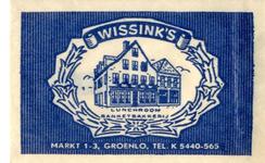 042 Wissink's lunchroom banketbakkerij