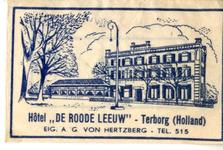 053 Hotel 'De Roode Leeuw'. Eig. A.G. von Hertzberg