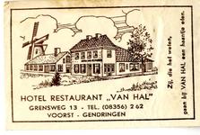 054 Hotel restaurant 'Van Hal'