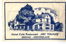 056 Hotel café restaurant 'Het Tolhuis'