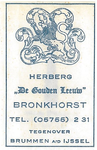 073 Herberg 'De Gouden Leeuw'
