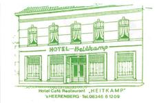 074 Hotel café restaurant 'Heitkamp'