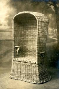 Rieten Strandstoel 2 Pers.Archieven Nl 25 Rieten Strandstoel Geproduceerd Door De