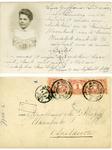 14-0035 Groet aan mejuffrouw Kropf, ca. 1900