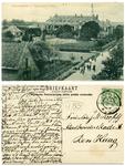 14-0036 Normaalschool in Vogelvlucht Zetten, ca. 1900