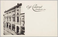142 Cafe Central, Arnhem, den ..., ca. 1920