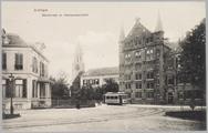 1533 Arnhem Marktstraat en Gemeentearchief, ca. 1910