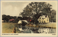 3442 watermolen in park Sonsbeek Arnhem, ca. 1950