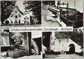 3459 Waterradkorenmolen Sonsbeek - Arnhem, ca. 1950
