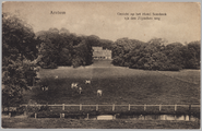 3720 Arnhem Gezicht op het Hotel Sonsbeek v/a den Zijpschen weg, ca. 1920