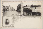 5422 De Groeten uit Arnhem [Stationsplein + Oude pond bij de Praets], ca. 1920