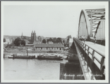 5603-0009 Arnhem vanaf de Rijnbrug, Ca. 1950