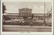 5604-0004 Arnhem - Station, ca. 1920