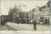 728 Arnhem, Jansplaats met Postkantoor., 1903-09-22