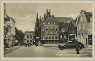 730 Arnhem - Jansplaats met Postkantoor, ca. 1950
