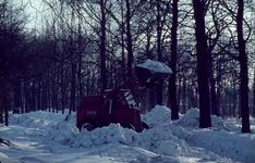 7232 Waterbergseweg. In de sneeuw, 1963