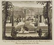 2322 Gezigt van de Fonteyn van Triton, 1718
