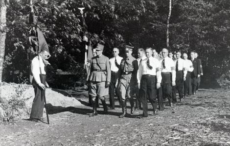 5458 POLITIE, 1940-1944