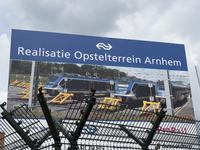 4242 Emplacement. Realisatie Opstelterrein Arnhem, 08-07-2021