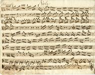 2587-0002 Symphonia à 4 ex C, z.j [ca 1800]