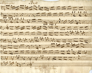 2587-0003 Symphonia à 4 ex C, z.j [ca 1800]