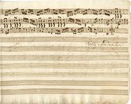 2587-0011 Symphonia à 4 ex C, z.j [ca 1800]