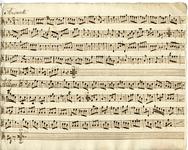 2587-0013 Symphonia à 4 ex C, z.j [ca 1800]