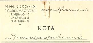 240 Coorens, Alph., 1936