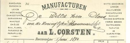 261 Corsten, L., 1894