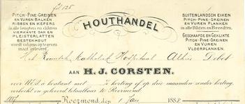 274 Corsten, H. J., 1888