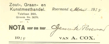 279 Cox, A., 1934